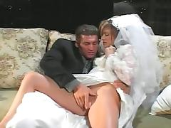 Newlyweds try out ass fucking