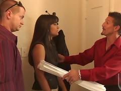 Carmen Hart Needs a Man to Fuck Her Good! That Long Brunette Hair, that Deepthroat Gagging! Hot Doggy Action!
