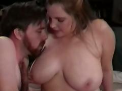 Amateur homemade with a chubby wife