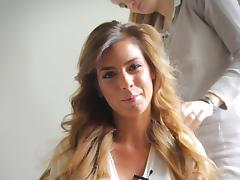 Glorious Szandra Moves Erotically In A Backstage Video