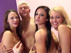 Aaliyah Love, Jennifer White, Porno Dan And Sandy Ambrosia Have Group Sex