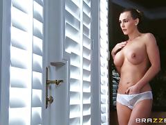Oiled up rough sex for the busty Tanya Tate
