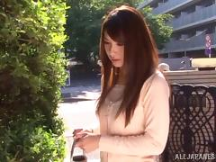 Naughty chick Yui Ooba cheats on hubby in position 69 with the milkman