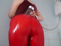 Big Ass Wet Spandex 1