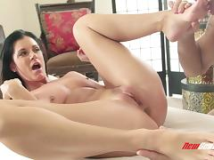 India Summer seduces a masseur and takes a ride on his dick
